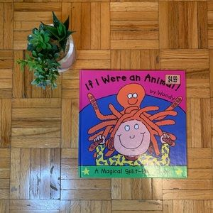 ⭐️$2 ADD ON ITEM Flap pullover kids picture book